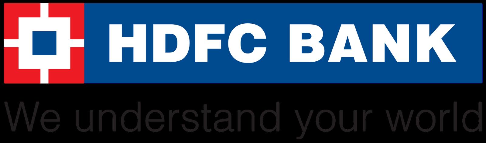 hdfc bank logo hdfc bank logo vector free indian logos