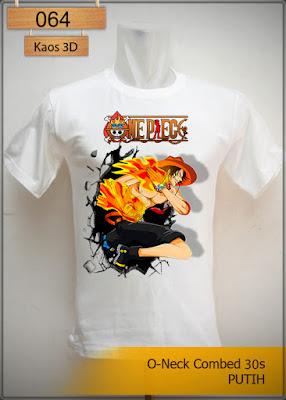 Kaos 3D One Peace