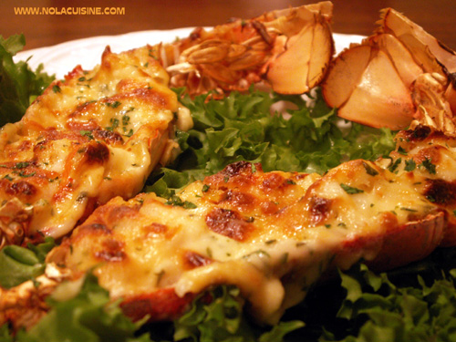 Melissa Valentine's Kitchen: Julia Child's Lobster Thermidor