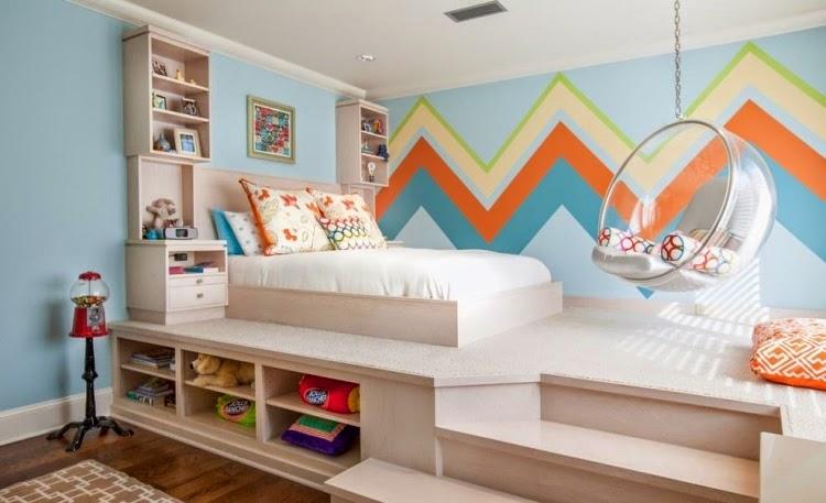 Dormitorios juveniles para espacios pequeños  Dormitorios colores y