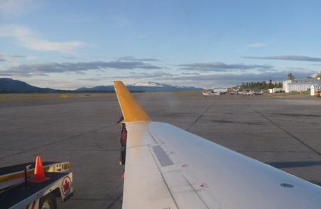 Whitehorse, Yukon, Canadá, avión