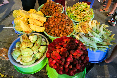Tropical Fruits in Hanoi, Vietman