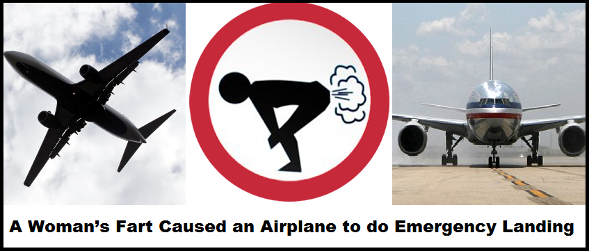 A Woman's Fart Caused an Airplane to do Emergency Landing