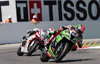 SUPERBIKES-Sykes lidera las dos carreras de Imola