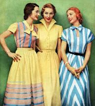 1950s Styles Vintage Dresses