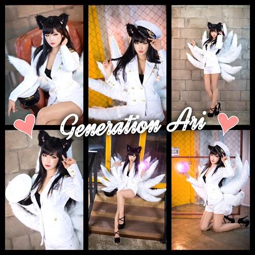 Yu Hee đẹp gợi cảm với khe hở vòng 1