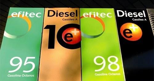El coste de 95 gasolinas en penze