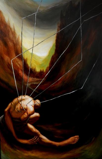 Serie: Imposibilitados del artista contemporáneo Abisay Puentes