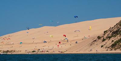 dune du Pyla Francia parapendio