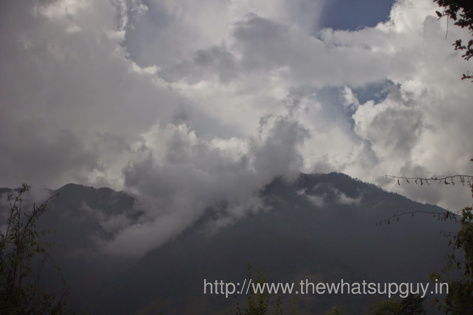 Evening-Weather-Roopkund-Trek-With-India-Hikes-Day-1