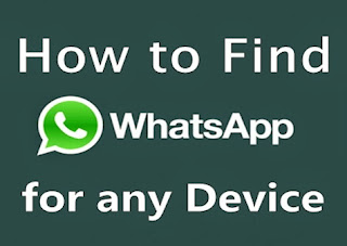 How to Find Whatzapp Downloads for any Phone