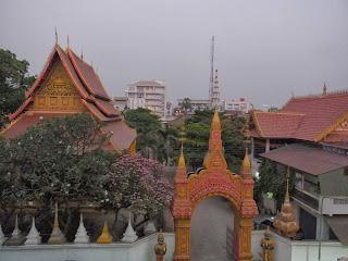 Wat Mixay from Mixay Paradise balcony