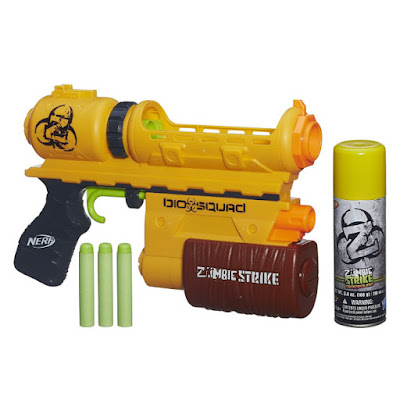 TOYS : JUGUETES - Nerf Zombie Strike  Biosquad Eraser ZR-100 | Pistola - Blaster  Producto Oficial 2015 | Hasbro B0310 | A partir de 8 años  Comprar en Amazon España & Buy Amazon USA