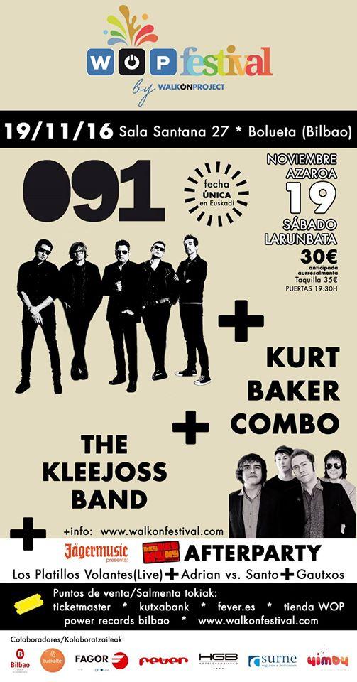 RECOMENDACIÓN!!! - 19/11/16<br> Fever - Bilbao