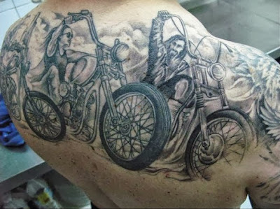 Moto Club Tattoo