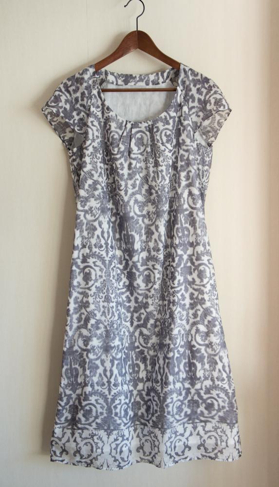 Сшить платье из шелка своими руками
