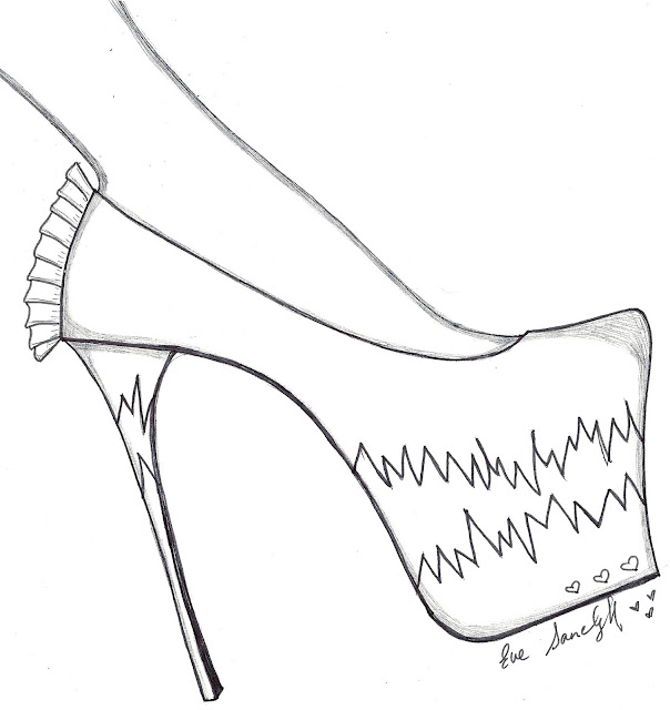 barbie high heels coloring pages - photo#35