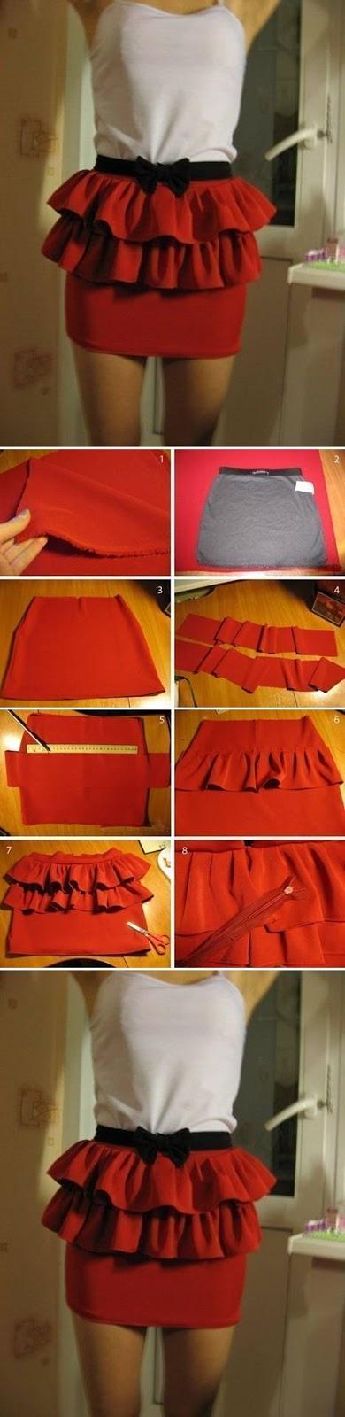 Easy Skirt Modification
