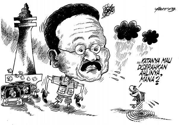 Karikatur Banjir Jakarta