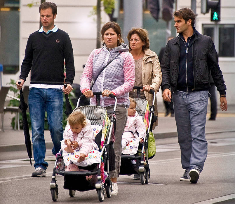 Roger Federer Mother Roger Federer And Family