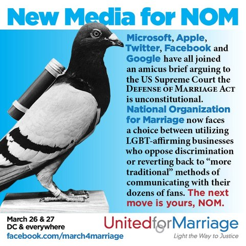 NewMediaForNOM United for Marriage: The next move is yours, NOM