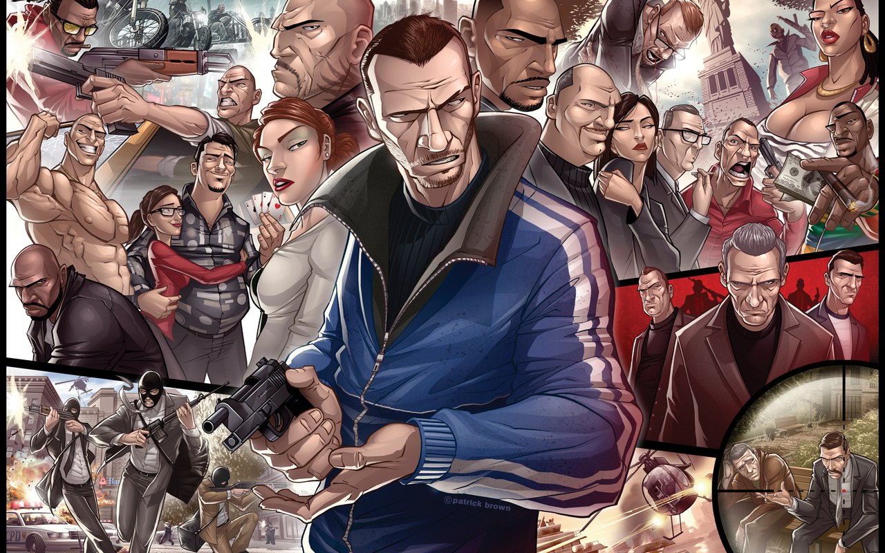 gta 4 wallpaper gamebud