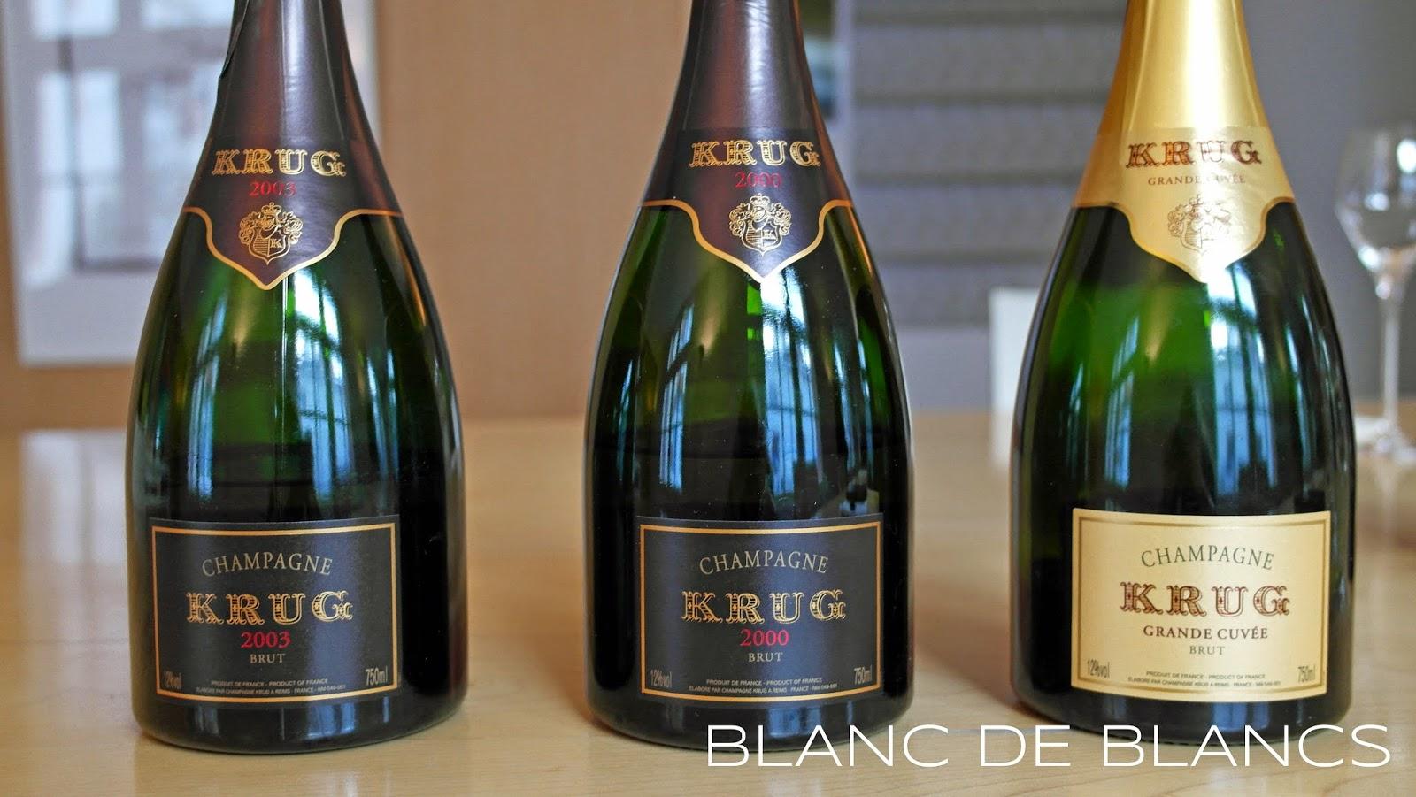 Krug tasting - www.blancdeblancs.fi