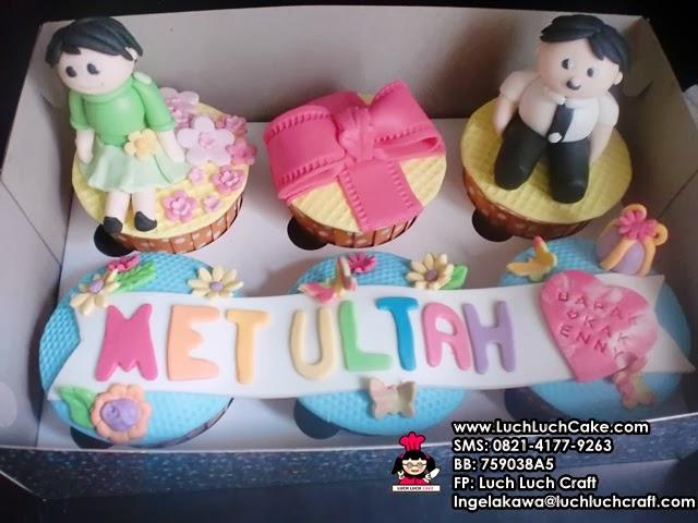 Cupcake Ulang Tahun Keluarga