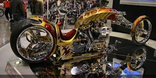 motor terbuat dari emas