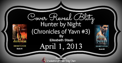 Cover Reveal Blitz: Hunter by Night by Elisabeth Staab
