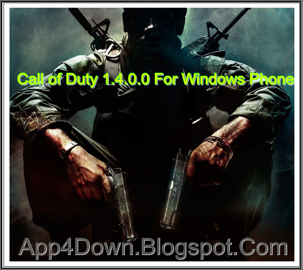 Download Call of Duty 1.4.0.0 For Windows Phone [APP]