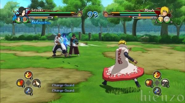 Sasuke vs Minato