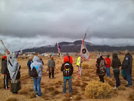 Shoshones welcome Longest Walk 4 to Shoshone land!