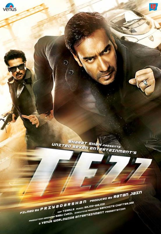 Tezz 2012 Hindi Movie First Look Info