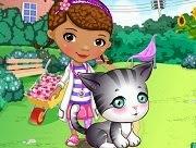 Doc McStuffins Stray Kitten Caring