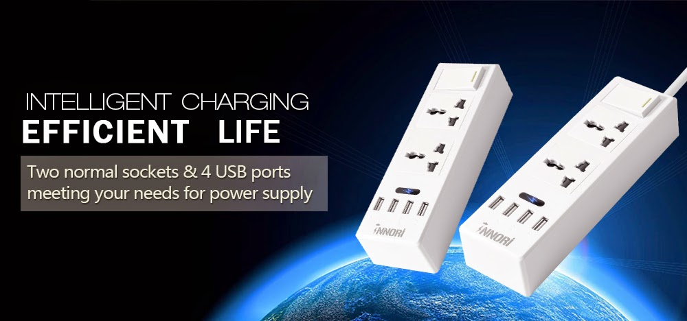 Enter the INNORI Multi-functional Power Strip Giveaway. Ends 5/13.