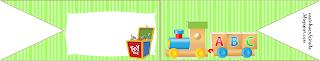 Kit Festa Tema Brinquedos Para Imprimir Grátis