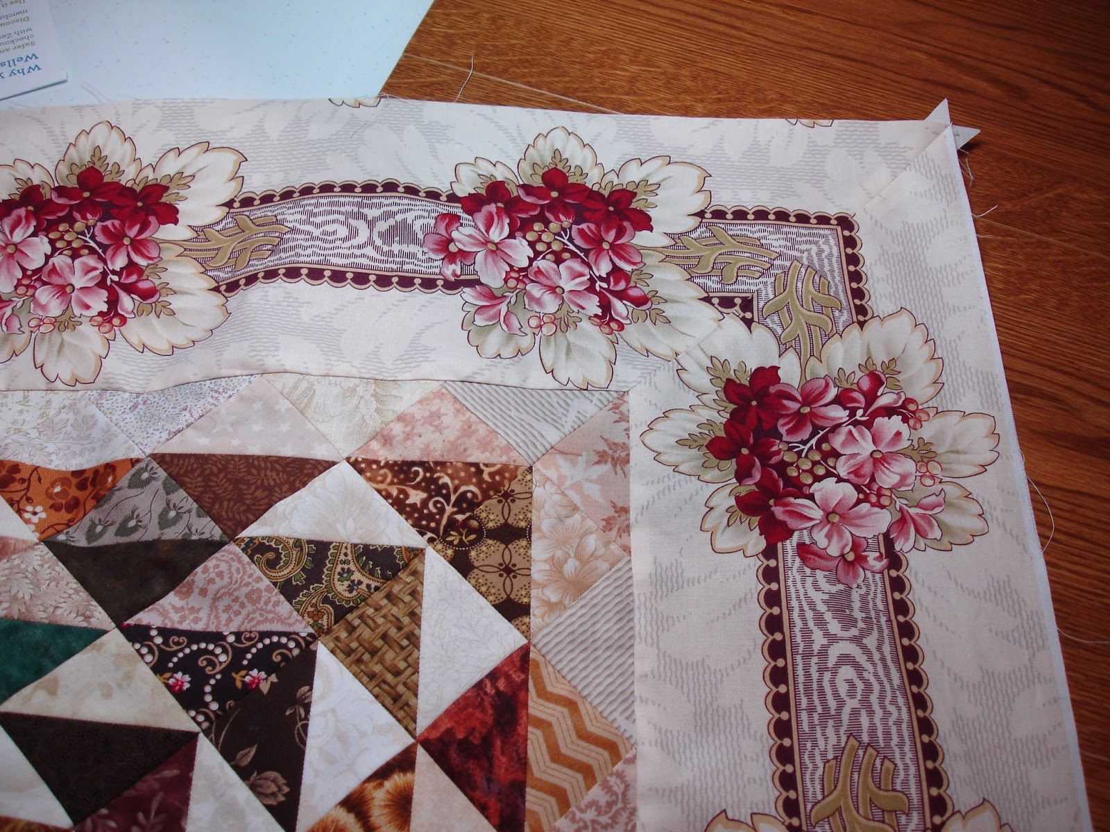 Subee Sews Quilts: A mitered quilt and a Disappearing 9-patch : mitered borders on quilts - Adamdwight.com