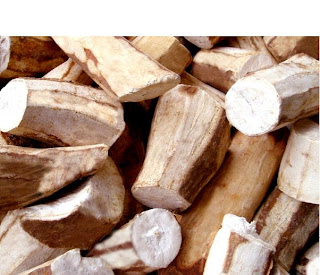 hydrogen-cyanide (toxic form of Amygdalin, Laetrile, or vitamin B17) is found in cassava