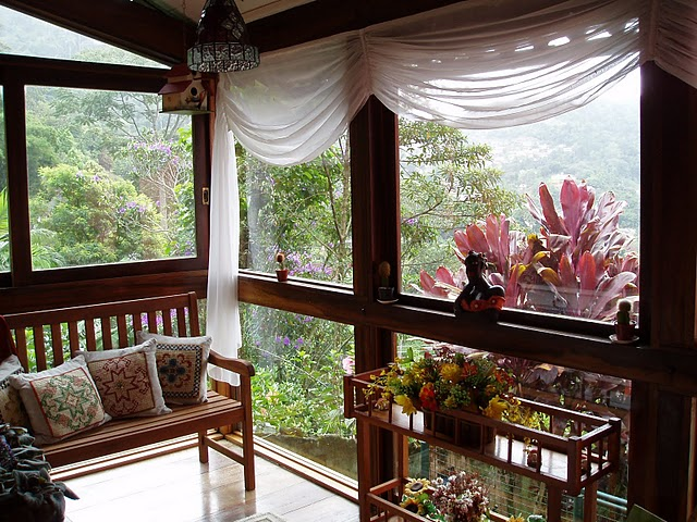 Decora o de interiores casa invente suas cortinas - Cortinas interiores casa ...