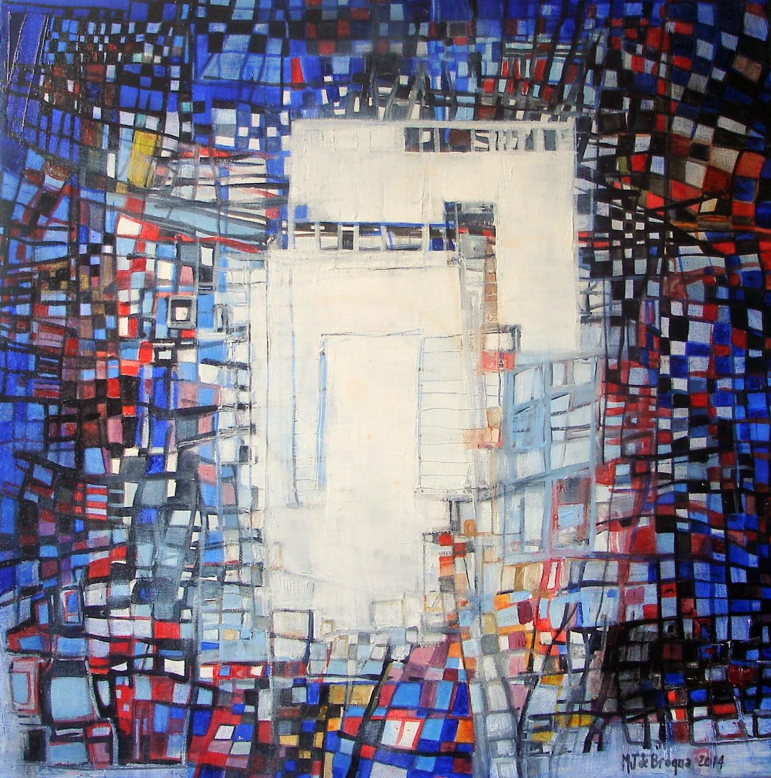 La porte ouverte - 50 x 50 cm - 2014