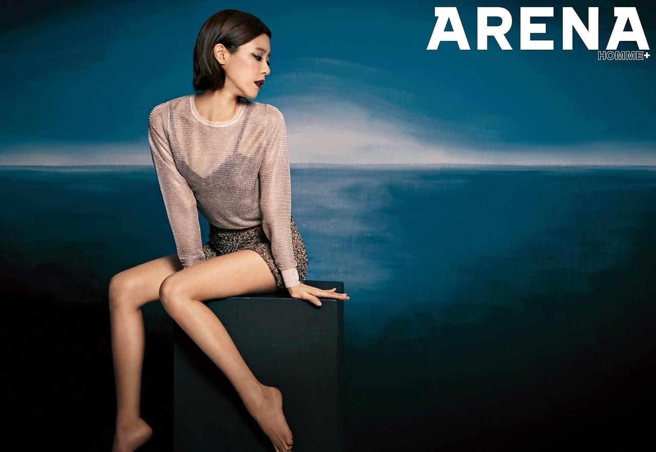 Lee Yoon Ji - Arena Homme Plus Magazine April Issue 2014