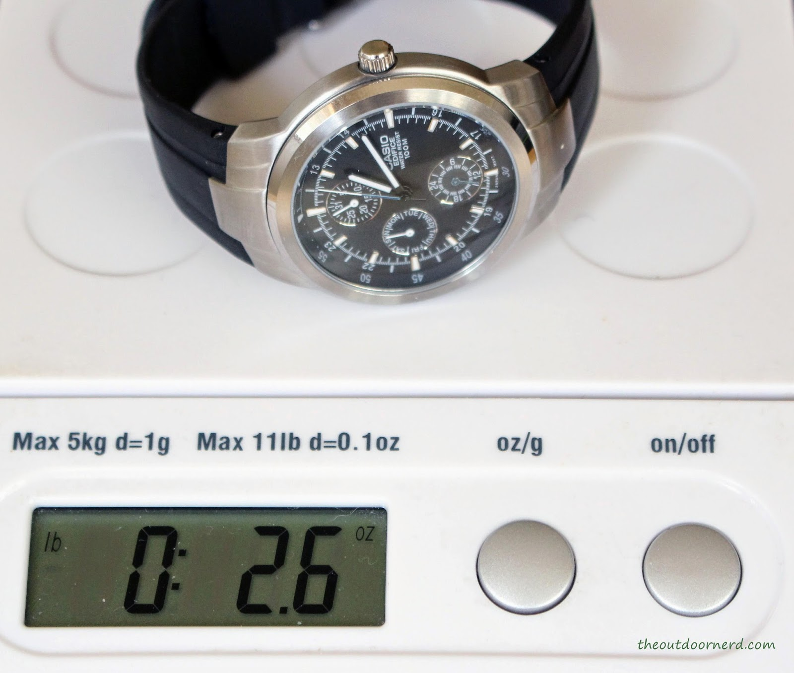 Casio Men's EF305-1AV Edifice On Scale