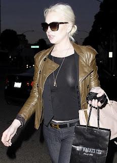 Lindsay Lohan, Lindsay Lohan Black Jeans
