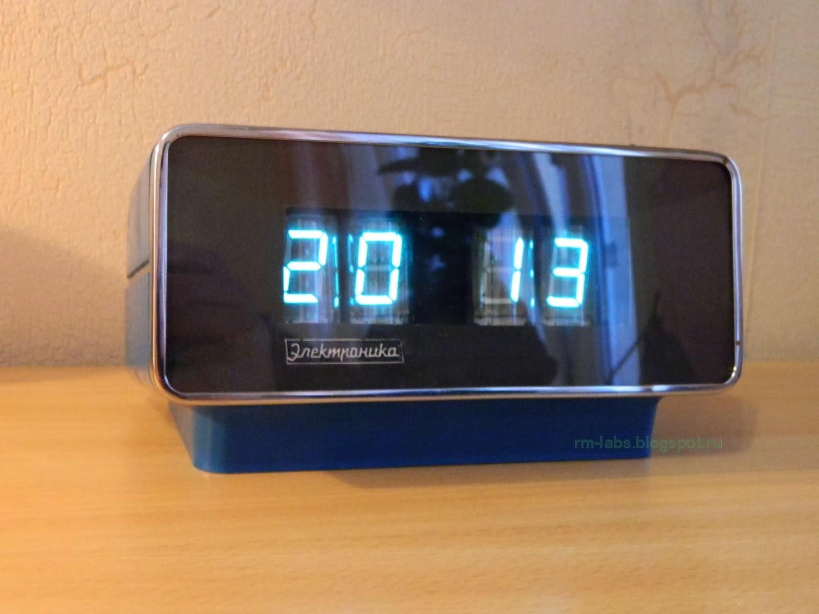 часы электроника 7-21 схема
