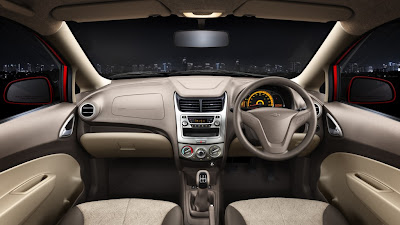 chevrolet sail u-va dashboard