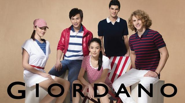 giordano clothing