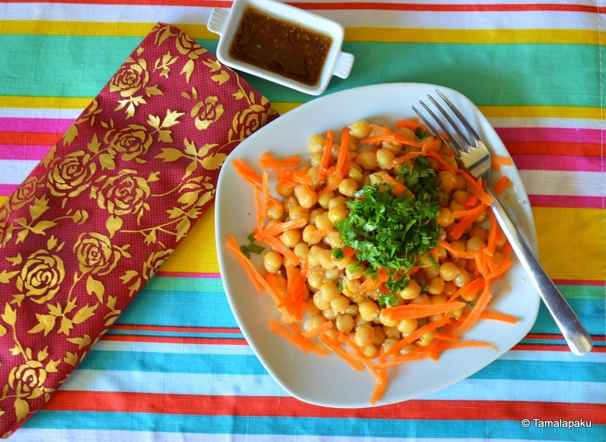 Nokot (Chichpea Salad)