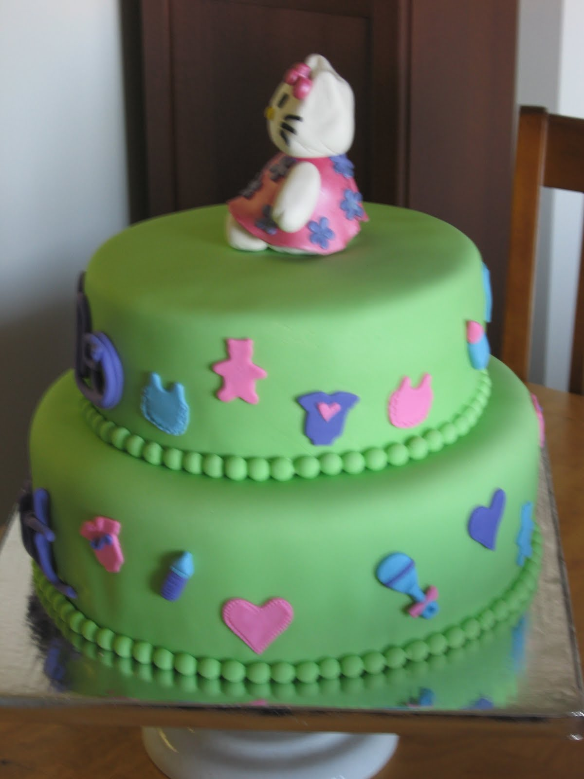 sweet cakes dc hello kitty baby shower cake