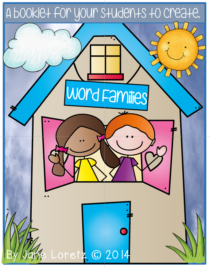 http://www.teacherspayteachers.com/Product/Word-Families-a-booklet-to-make-1583056